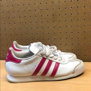 Women's Adidas Samoa Leather Sneakers sz 8